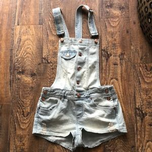 Divided Jean Overalls 6